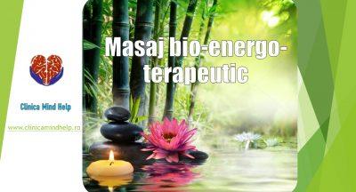 Masaj bio-energo-terapeutic